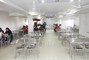 Hostel Mess is equipped with modern gadgets for cooking hygienic and nutritive food and Ben marry system is used to serve warm food on the dining table.