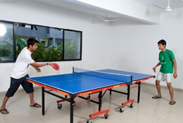 Sports facilities include indoor arena with provision for table-tennis, carom, chess etc and outdoor sports ground with kits for Cricket, Volley Ball etc.